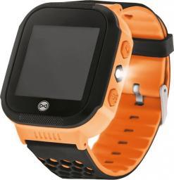Smartwatch Forever Find Me KW-200 Pomarańczowy  (5900495681942)