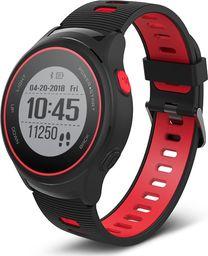Smartwatch Forever SW-600 Czarno-czerwony  (5900495738288)