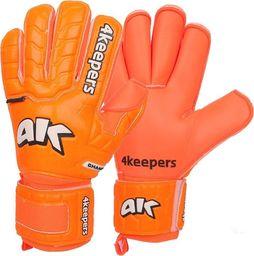 4keepers Rękawice Champ Colour Orange IV RF Junior + płyn czyszczący (S605082)