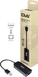 Karta sieciowa Club 3D USB RJ-45, Czarny (CAC-1420)