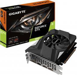 Karta graficzna Gigabyte GeForce GTX 1660 Mini ITX OC 6GB GDDR5 (GV-N1660IXOC-6GD)