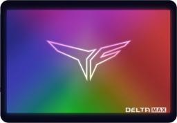 Dysk SSD Team Group Delta Max RGB SSD 2,5 1TB  (T253TM001T3C302)