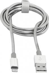Kabel USB Verbatim Lightning USB-A, silver