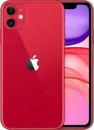 Smartfon Apple iPhone 11 256 GB Dual SIM Czerwony  (MWM92PM/A)