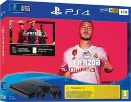 Sony Sony PlayStation 4 Slim 1TB Czarna  Fifa 20  Kontroler