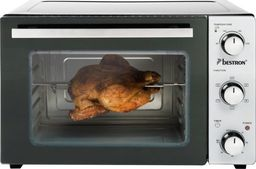 Mini piekarnik Bestron Bestron AOV45 grill-oven, mini-oven (silver / black, with rotisserie and convection function)