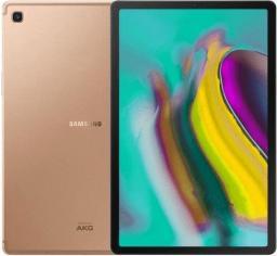 "Tablet Samsung Galaxy Tab S5e 10.5"" 64 GB 4G LTE Złoty  (SM-T725NZDADBT)"
