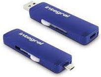 Pendrive Integral Slide 16GB USB 3.0 (INFD16GBSLDOTG3.0NRP)