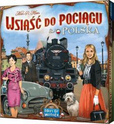 Rebel Gra planszowa Wsiąść do Pociągu Kolekcja Map 6.5  Polska