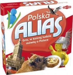 Tactic Gra planszowa Alias Polska