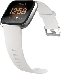 Smartwatch Fitbit Versa Special Edition Srebrny  (FB415SRWT)