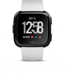 Smartwatch Fitbit Versa Special Edition Czarno-biały  (FB505GMWT-EU)