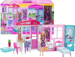 Barbie Barbie cottage with furniture and doll - FXG55