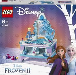 LEGO Disney Princess Szkatułka na biżuterię Elsy (41168)