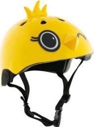 Hudora Kask rowerowy Kiki żółty r. M