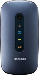 Telefon komórkowy Panasonic Telefon dla seniora KX-TU456 niebieski (KX-TU456EXCE)