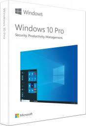 System operacyjny Microsoft Windows 10 Professional EN 32 bit 64 bit BOX (HAV-00060)