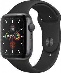 Smartwatch Apple Watch 5 GPS 44mm Grey Alu Szary  (MWVF2WB/A)