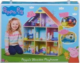 Tm Toys Drewniany domek Peppy