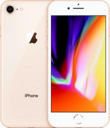 Smartfon Apple iPhone 8 128 GB Złoty  (MX182PM/A)