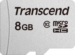 Karta Transcend 300S MicroSDHC 8 GB Class 10  (TS8GUSD300S)