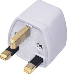 Adapter do ładowarki Akyga Akyga Travel adapter podróżny AK-AD-59 US / AU / EU do UK biały