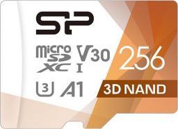 Karta MicroSD Silicon Power Superior Pro Micro SDXC 256GB UHS-I U3 V30 +adapter
