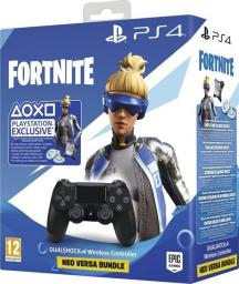 Gamepad Sony PS4 Dualshock 4 V2 Fortnite Neo Versa Bundle