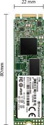 Dysk SSD Transcend 830S 128 GB M.2 2280 SATA III (TS128GMTS830S)