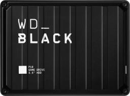 Dysk zewnętrzny Western Digital HDD P10 Game Drive 2 TB Czarny (WDBA2W0020BBK-WESN)