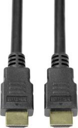 Kabel LogiLink HDMI - HDMI 5m czarny (CH0080)