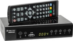 Tuner TV Cabletech Tuner cyfrowy Cabletech DVB-T2 H.265 HEVC LAN
