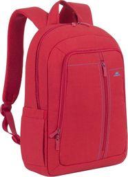 """Plecak RivaCase Plecak na notebook 15,6"""" RivaCase Alpendorf czerwony, z materiału wodoodpornego"""