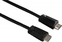Kabel Hama HDMI - HDMI 3m czarny (122101)