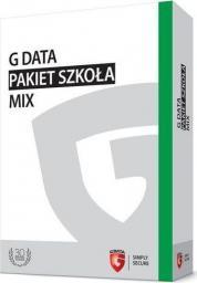 Gdata Pakiet Szkoła MIX BOX do 100PC 1 ROK