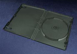 Esperanza Pudełko Esperanza na 1 DVD 14mm do pakowania maszynowego 90 cykli 3106 czarne