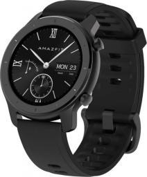 Smartwatch Xiaomi Amazfit GTR 42mm Czarny  (A1910BK)