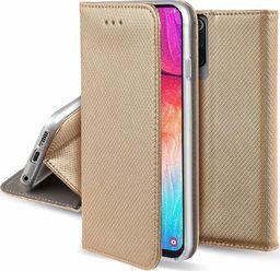 nemo Etui portfel z klapką Flip Magnet XIAOMI REDMI NOTE 8 PRO złote uniwersalny
