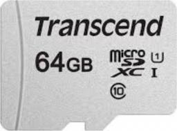Karta MicroSD Transcend  MICRO SDXC 64GB (TS64GUSD330S)