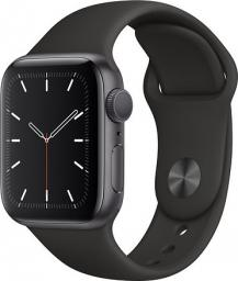 Smartwatch Apple Watch 5 GPS 40mm Grey Alu Czarny  (MWV82FD/A)