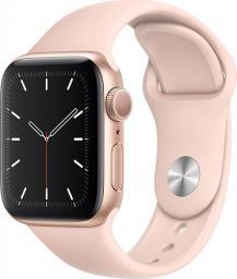 Smartwatch Apple Watch 5 GPS 40mm Gold Alu Różowy  (MWV72FD/A)