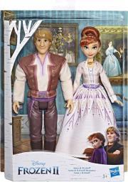 Hasbro FROZEN 2 Kraina Lodu 2 Anna i Kristoff (E5502)