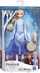 Hasbro FROZEN 2 Kraina Lodu 2 Magicznie podświetlana suknia Elsa (E7000)