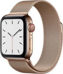 Smartwatch Apple Watch 5 GPS+Cellular 40mm Gold Steel Różowy  (MWX72FD/A)
