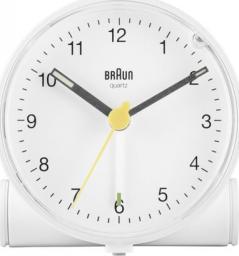 Braun BC 01 W budzik kwarcowy biały (67004)