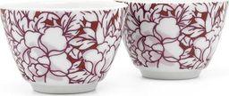 Bredemeijer Bredemeijer Tea mugs Yantai red set of 2, porcelain 152003