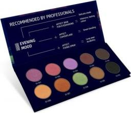 Affect Cienie do powiek Evening Mood Pressed Eyeshadows Palette 10x2-2.5g
