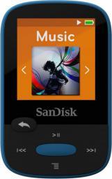Odtwarzacz MP3 SanDisk SANSA Clip Sport 8GB niebieski (SDMX24-008G-G46B)