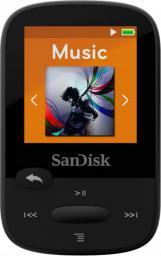 Odtwarzacz MP3 SanDisk SANSA Clip Sport 8GB czarny (SDMX24-008G-G46K)