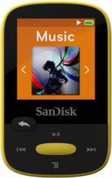 Odtwarzacz MP3 SanDisk SANSA Clip Sport 8GB żółty (SDMX24-008G-G46Y)